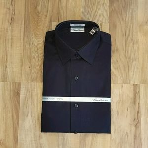 NWT Kenneth Cole Non Iron Slim Fit Dress Shirt